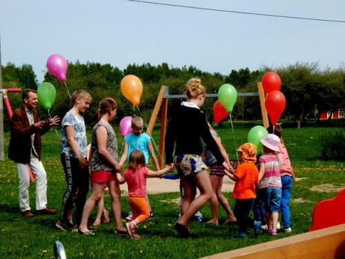 Laste mänguväljaku avamine